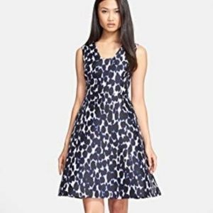 Kate Spade Leopard Fit and Flare Dress